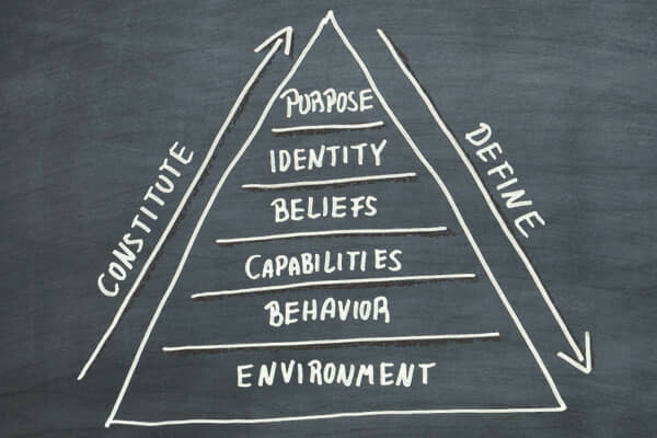 Dilts' Pyramid of levels