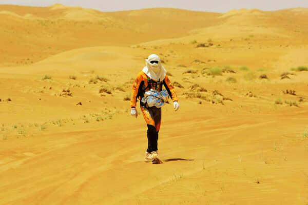 Una camminata nel deserto