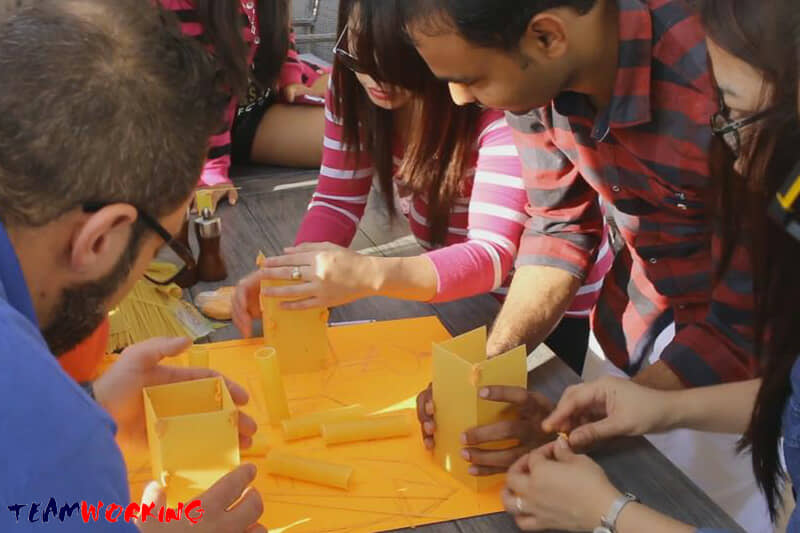Creative team activity